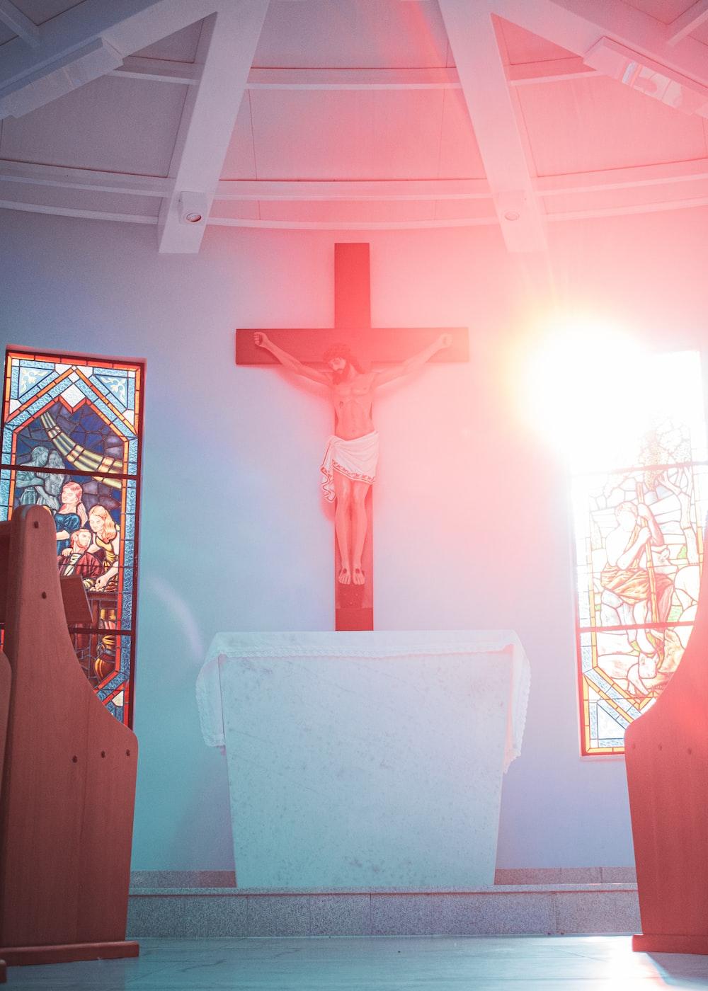 Crucifix statue