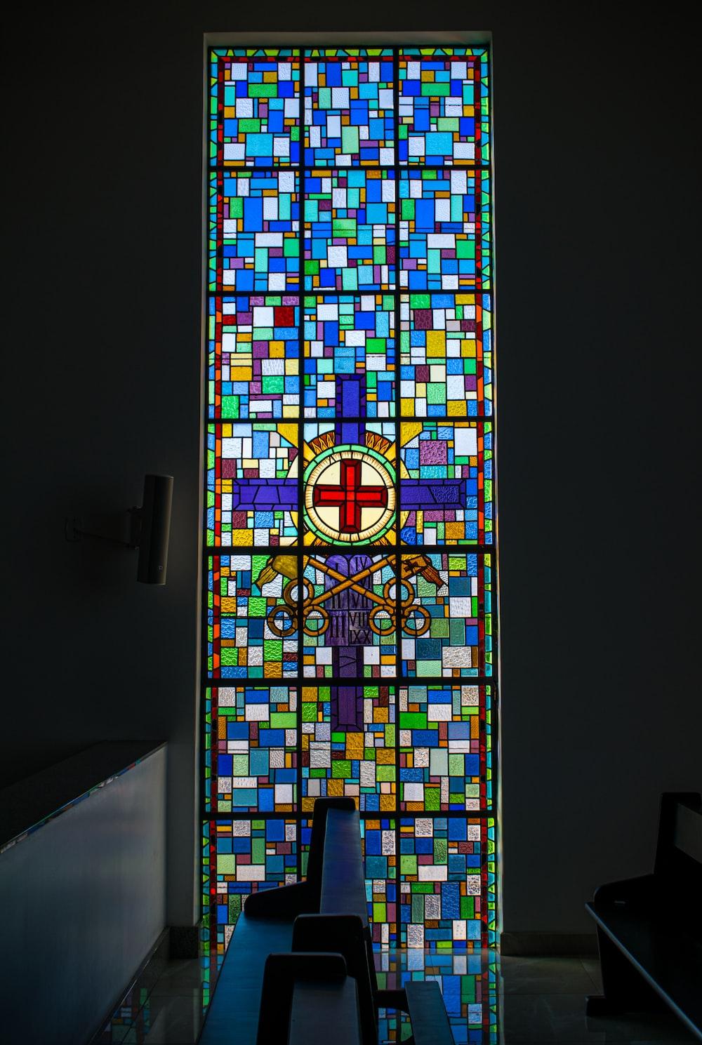 mosaic religious window