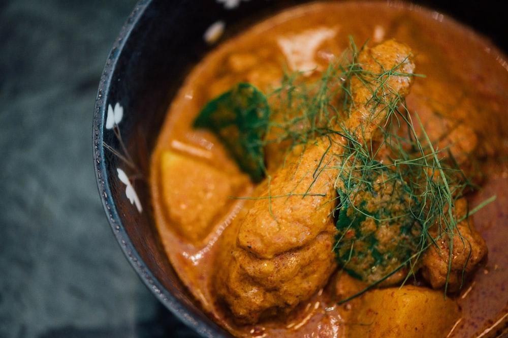 Chicken leg soup