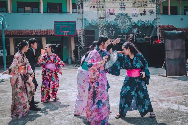 Kimono / Yukata Japanese Traditional Culture