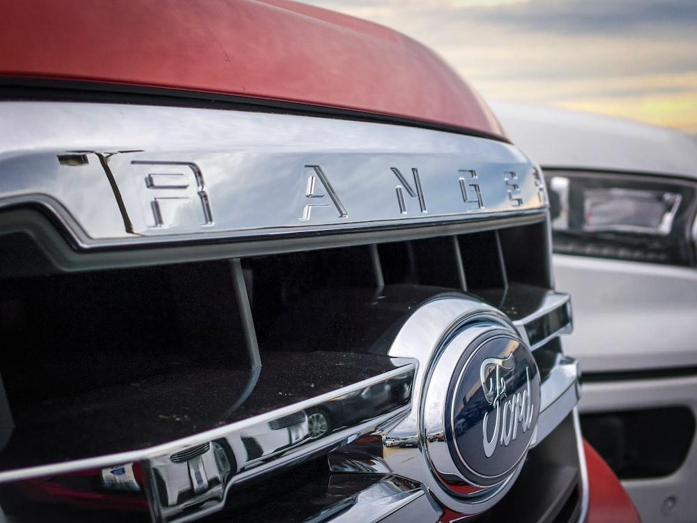 red Ford Ranger