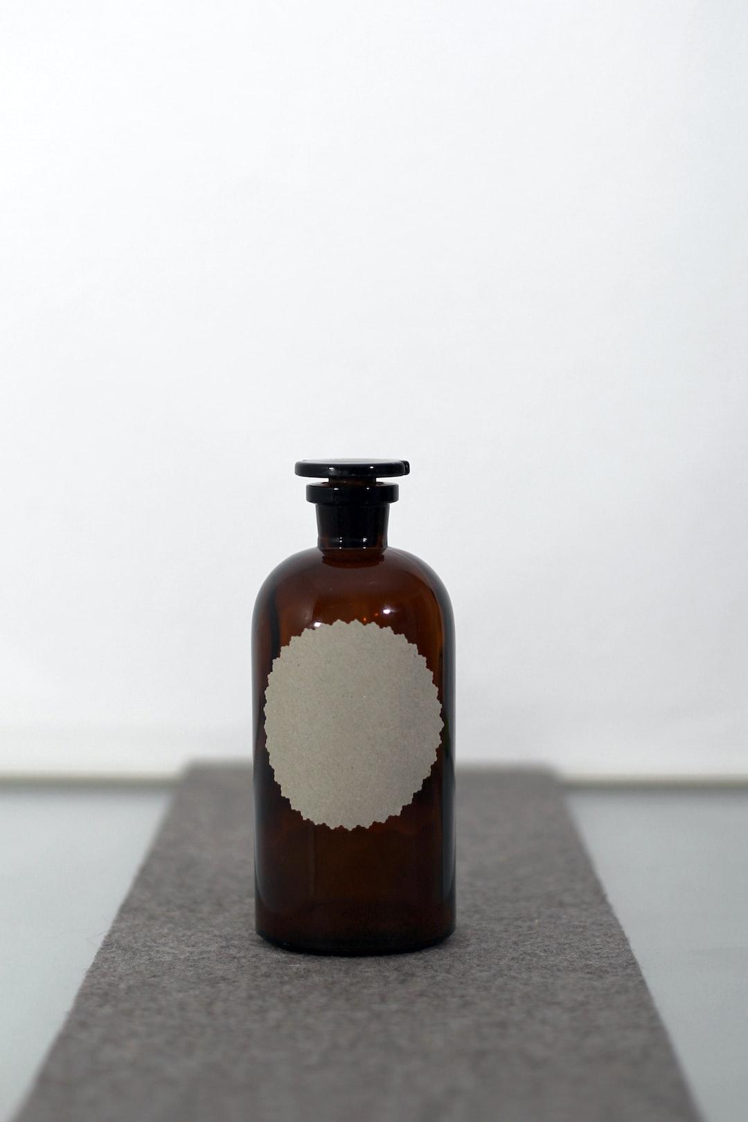 pharmacist bottle