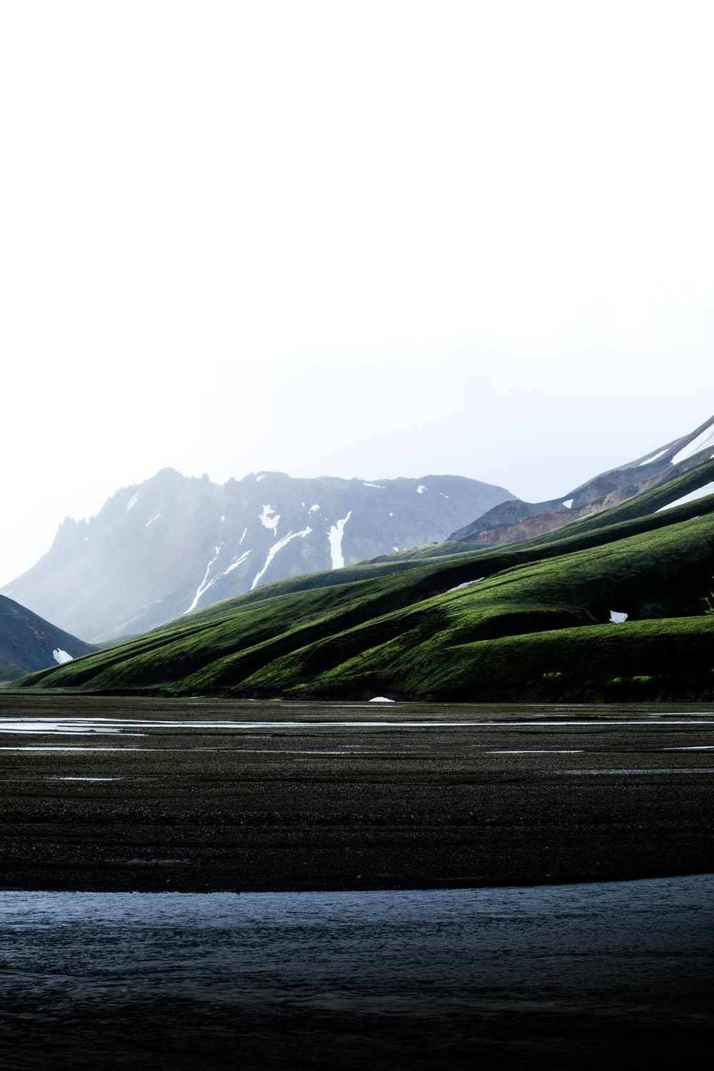 view photography of mountain and lake during daytime