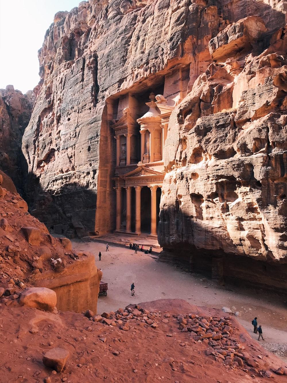 Petra during daytime