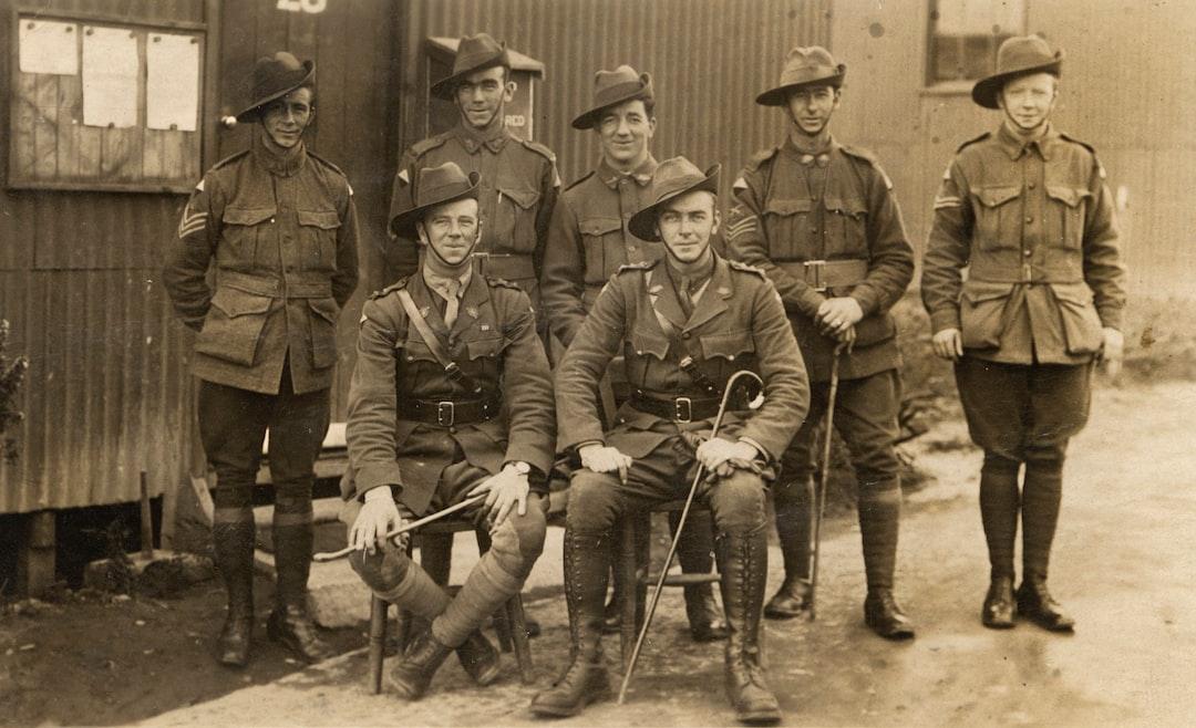 Australian Servicemen, 24th Battalion, World War I, 1914-1918