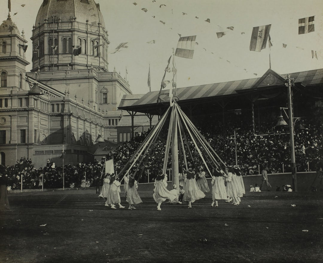 Federation Celebrations, 'State School Fete, Exhibition Building', Melbourne, 11 May1901