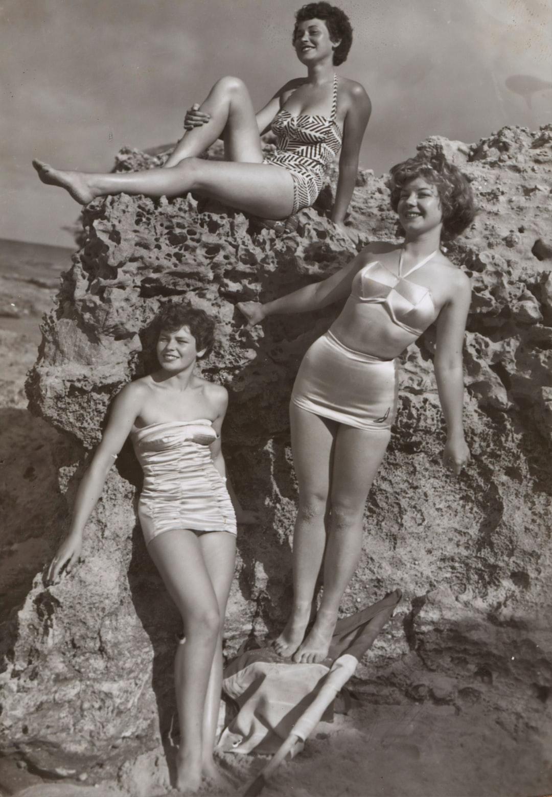 Bernice Kopple, Photograph used in article 'Bonny Scot Beach Girl', Australia,1950s