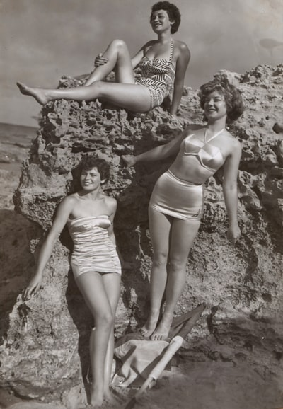 Bernice Kopple, Photograph used in article 'Bonny Scot Beach Girl', Australia,1950s