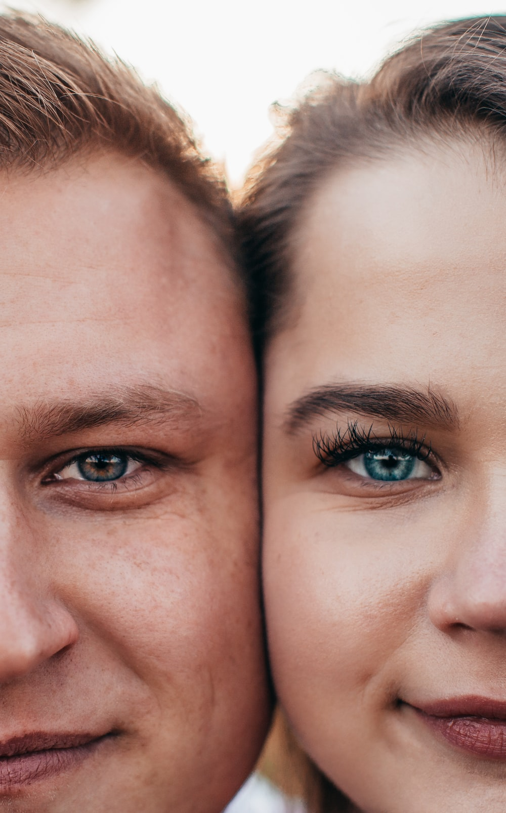 couple on focus photography