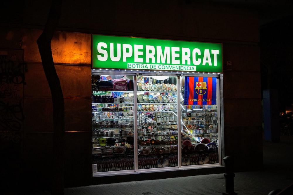 Supermercat store