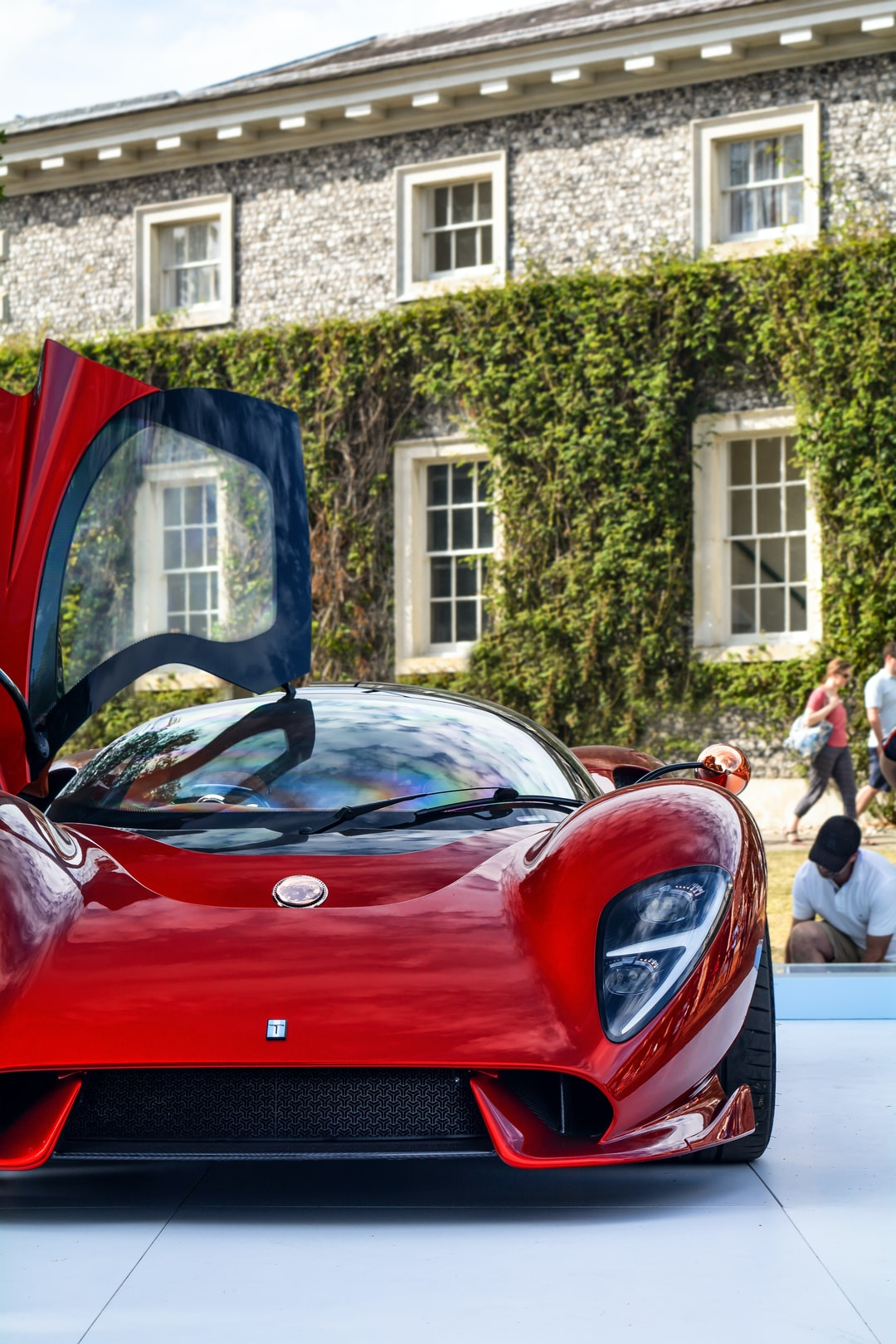 The De Tomaso P72 at Goodwood Festival of Speed 2019...