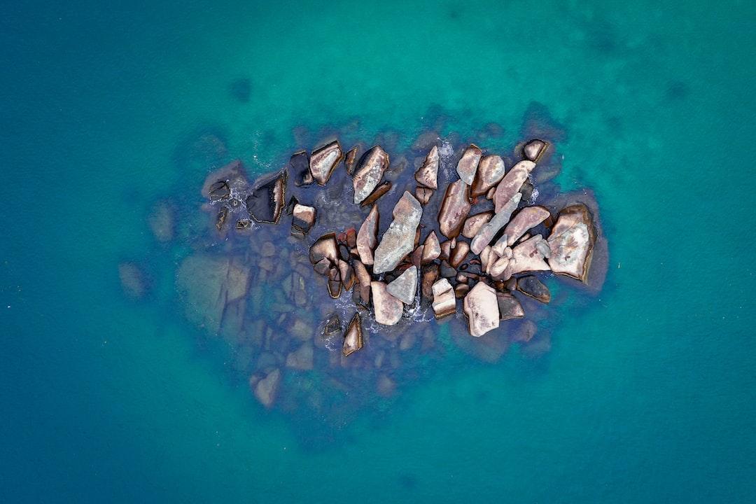 Rocks. Angra dos Reis. Brazil