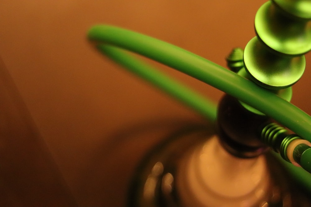 green and gray hookah