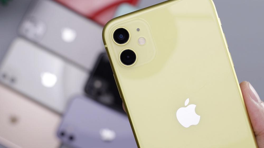 gold iPhone XI