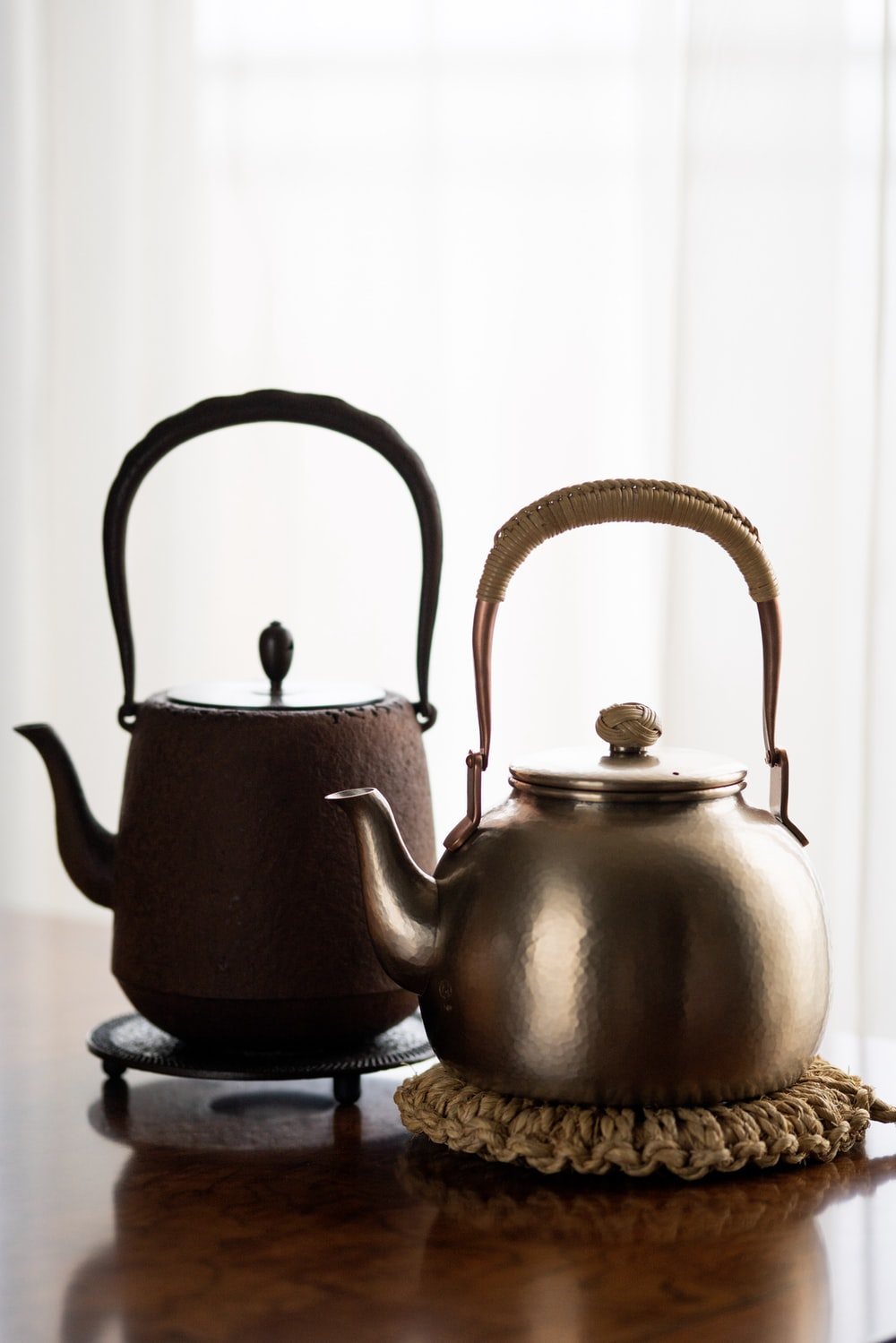 grey whistling kettle