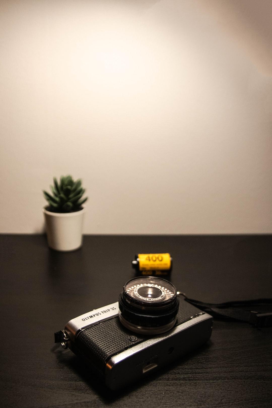 My lovely vintage camera Olympus trip 35