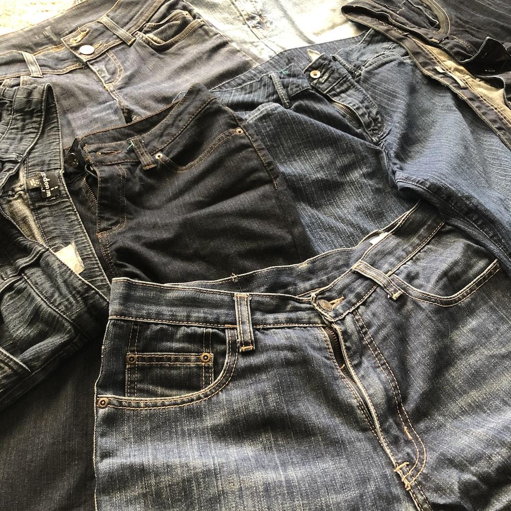 whiskered blue jeans