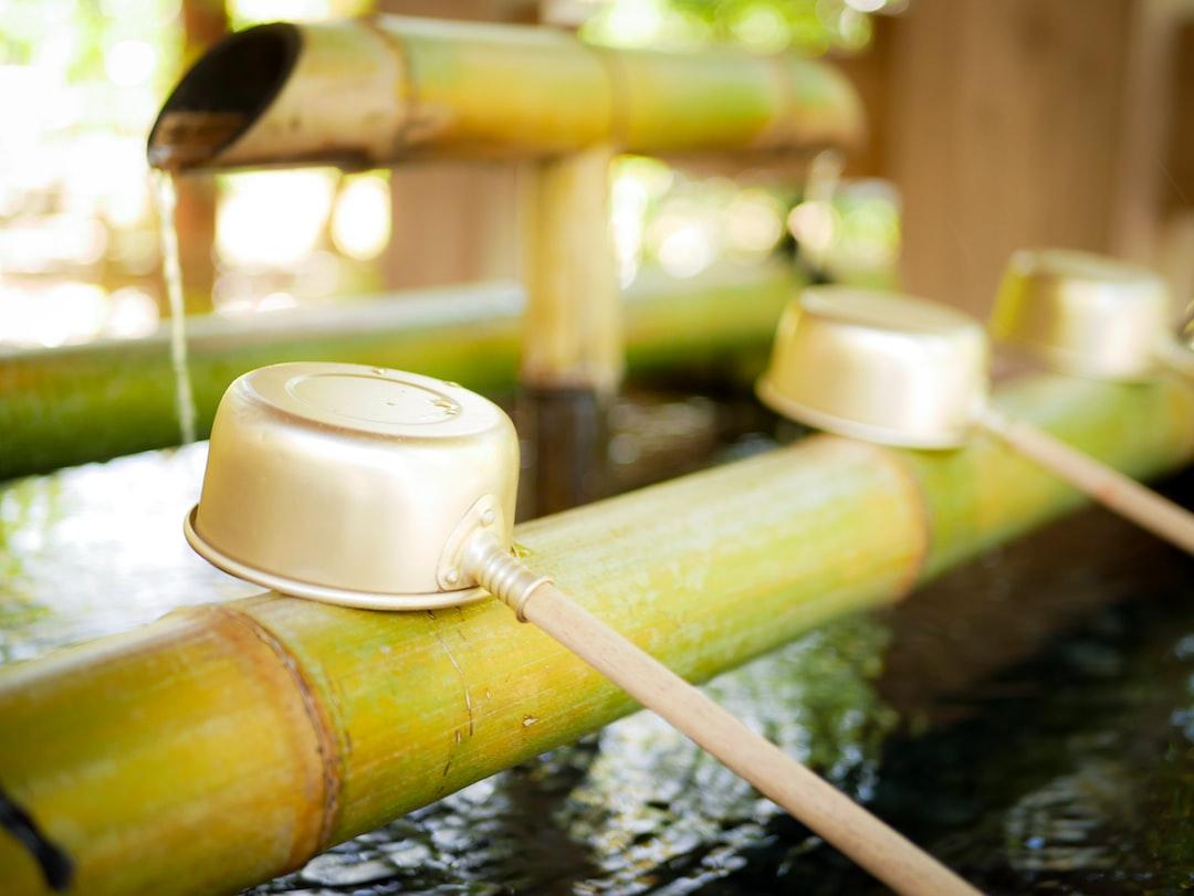 Chōzuya or temizuya (手水舎) is a Shinto water ablution pavilion for a ceremonial purification rite known as temizu.