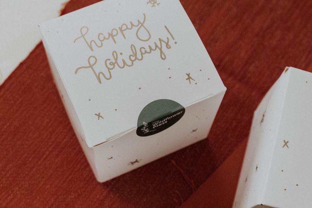 unopened Happy Holiday box