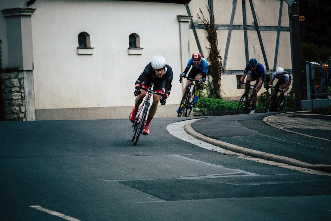 Racing bike strett tour contest championship