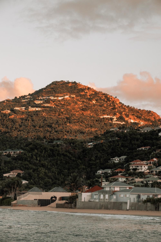 house near hill
