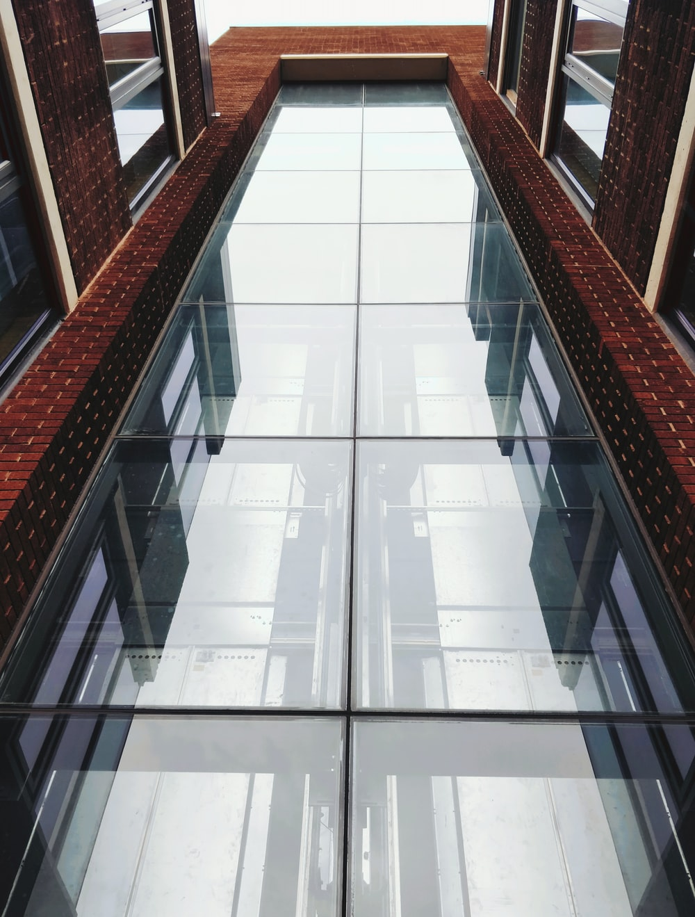 building with glass window