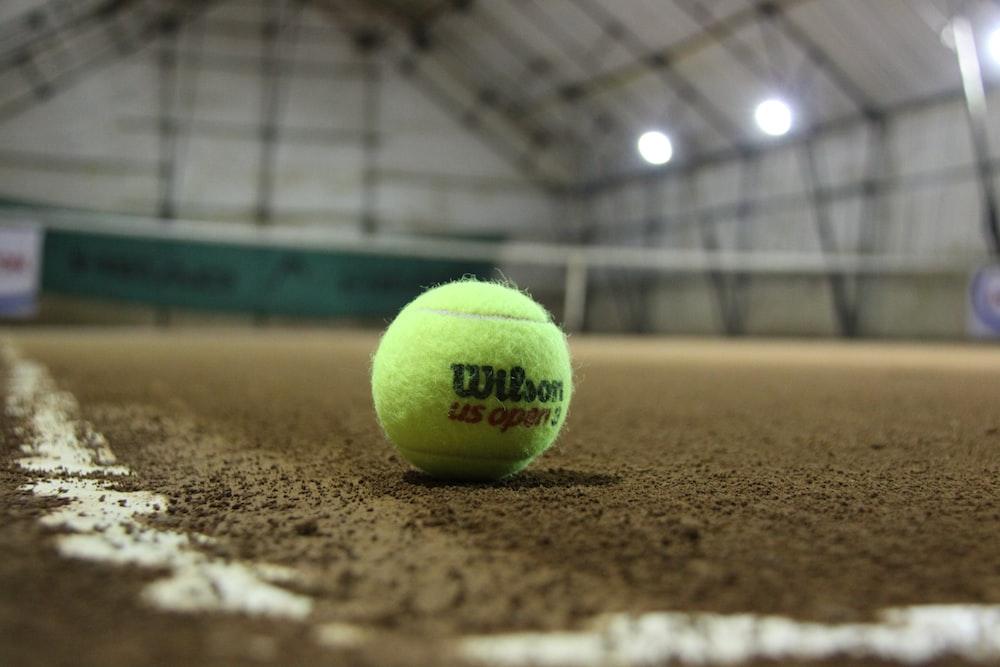 green Wilson tennis ball