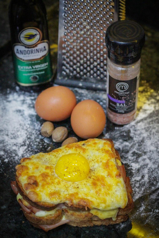 omelette on table