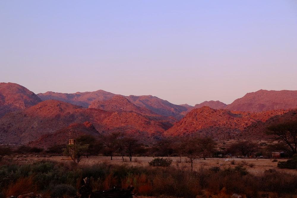 mountain range during daytime