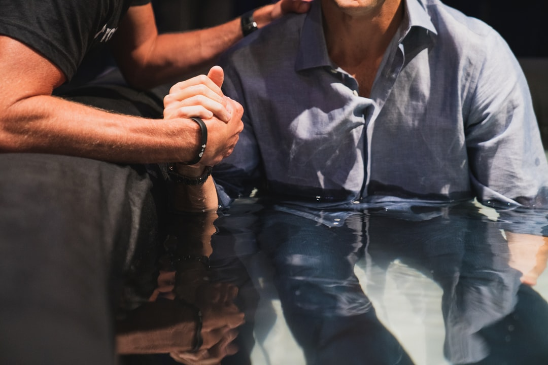 Baptism Pool Prayer