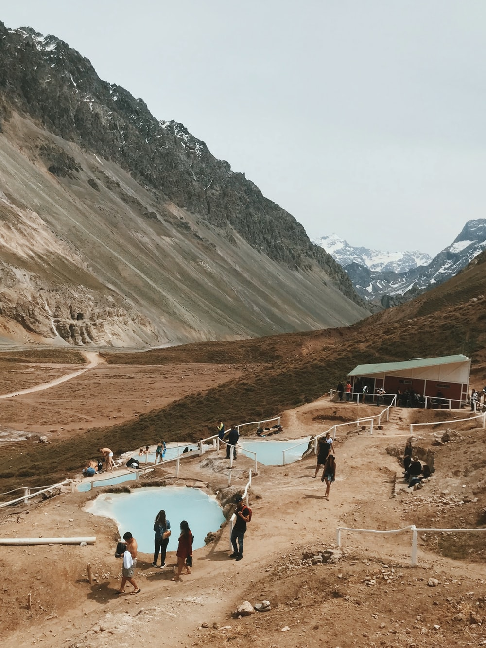 men and women in a valley during daytime