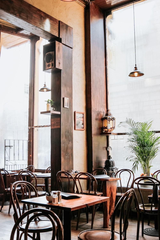 empty indoor restaurant