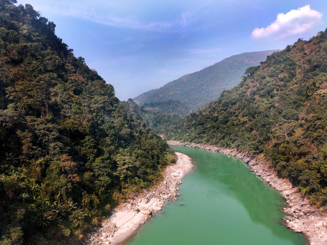 Beautiful Mountain ⛰ Range @ Coronation Bridge