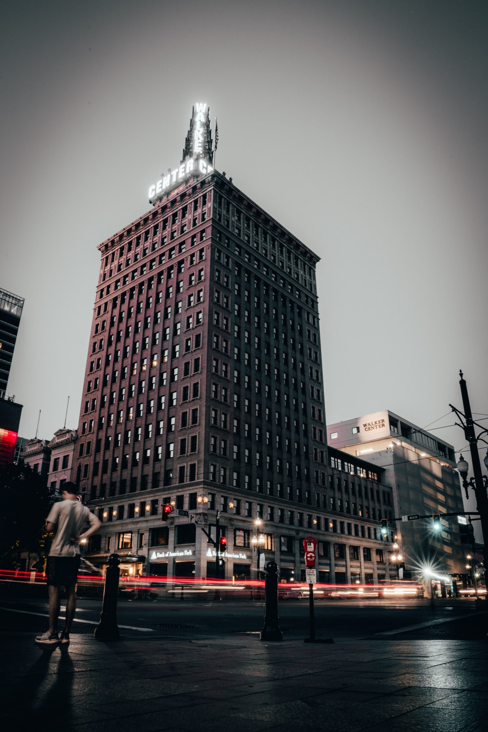 low angle photo of building