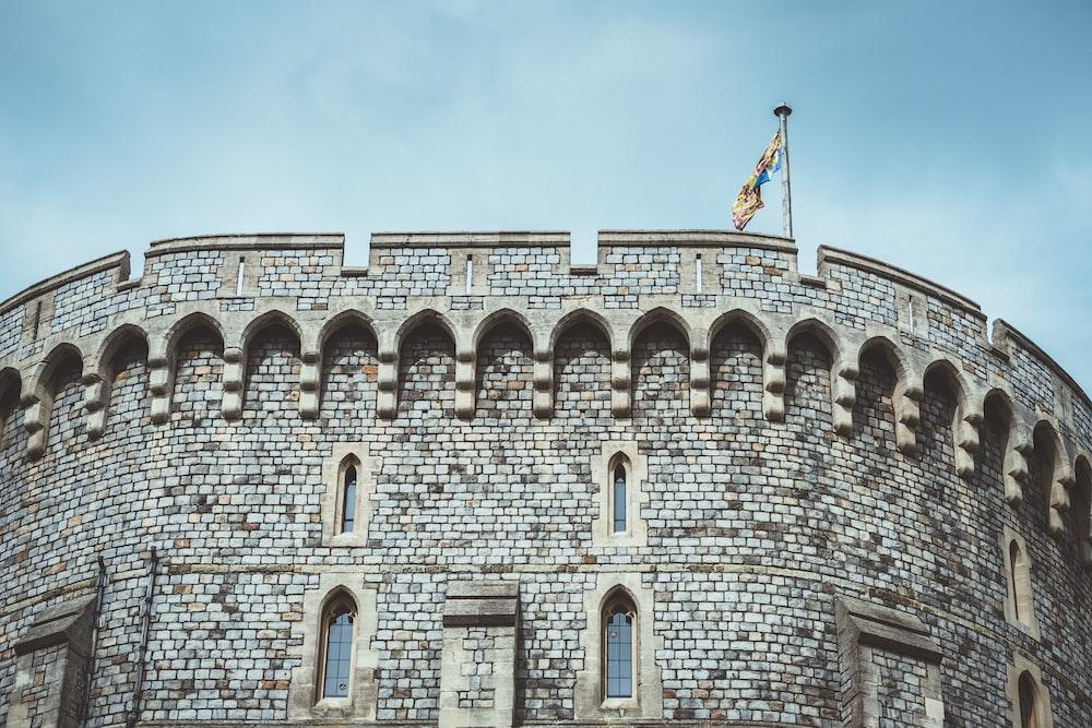gray castle wall