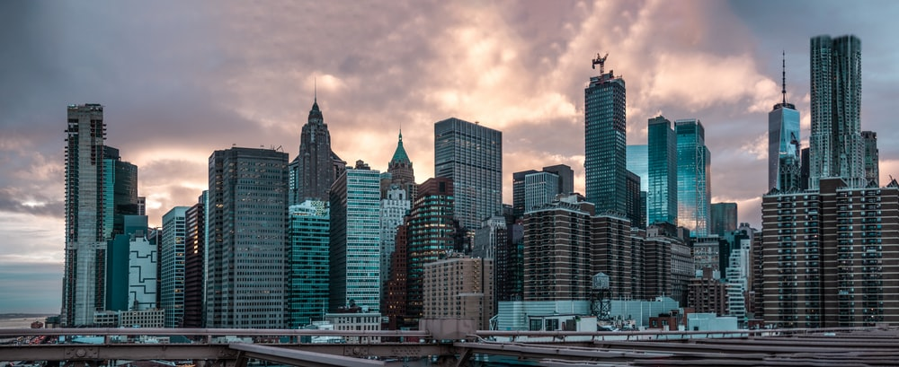 city high-rise buildings