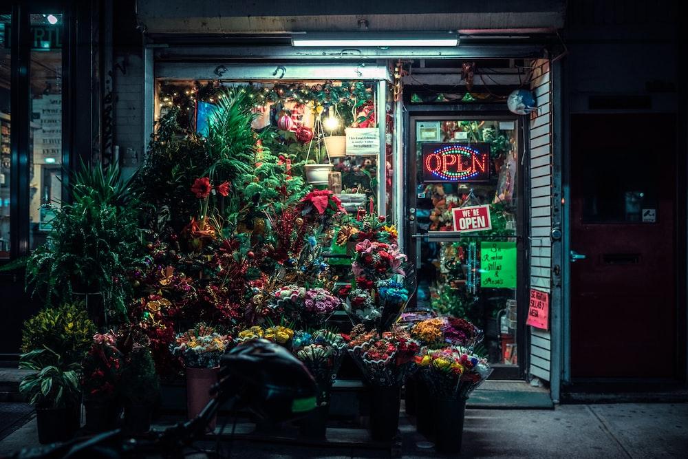 closed flower shop