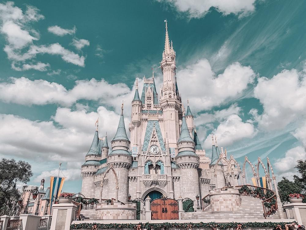 Disney castle during daytime