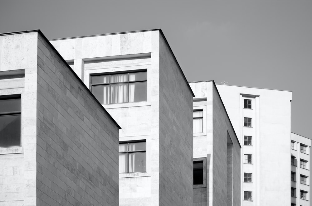 concrete buildings during daytime