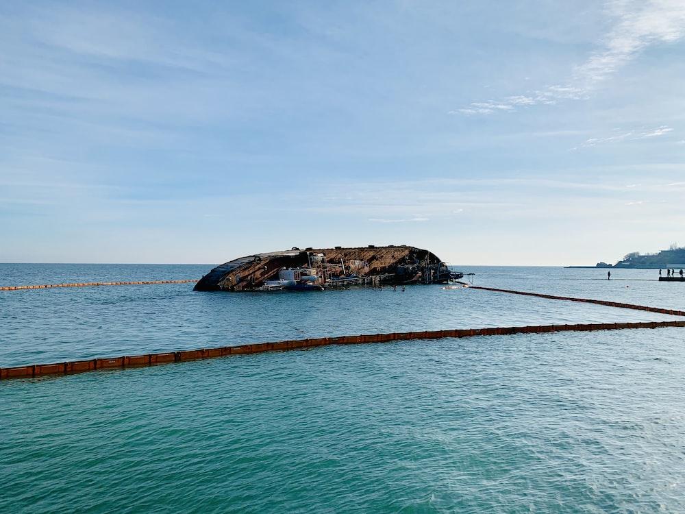 island during daytime