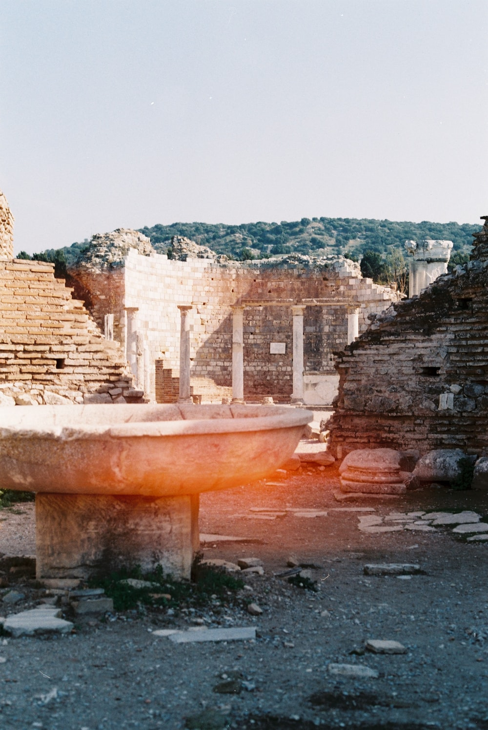 photography of ruin concrete buildings during daytime