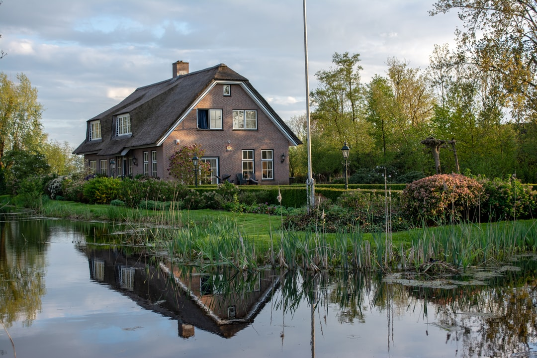 A picturesque mansion in the netherlands