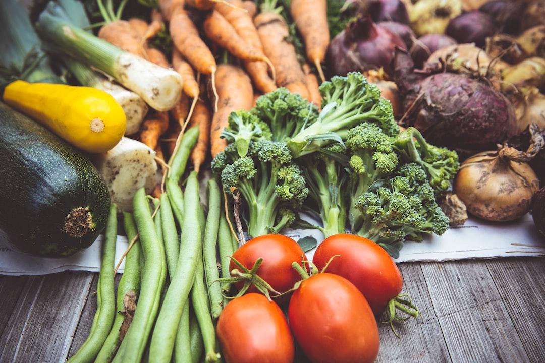 Urban gardening harvest vegetables  self support