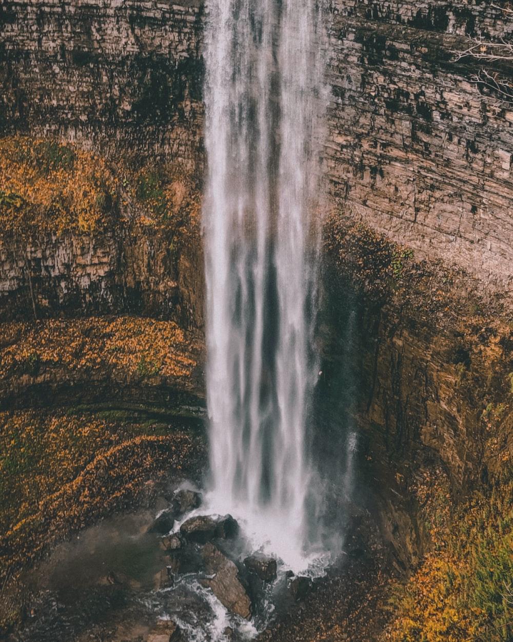 waterfalls photograph