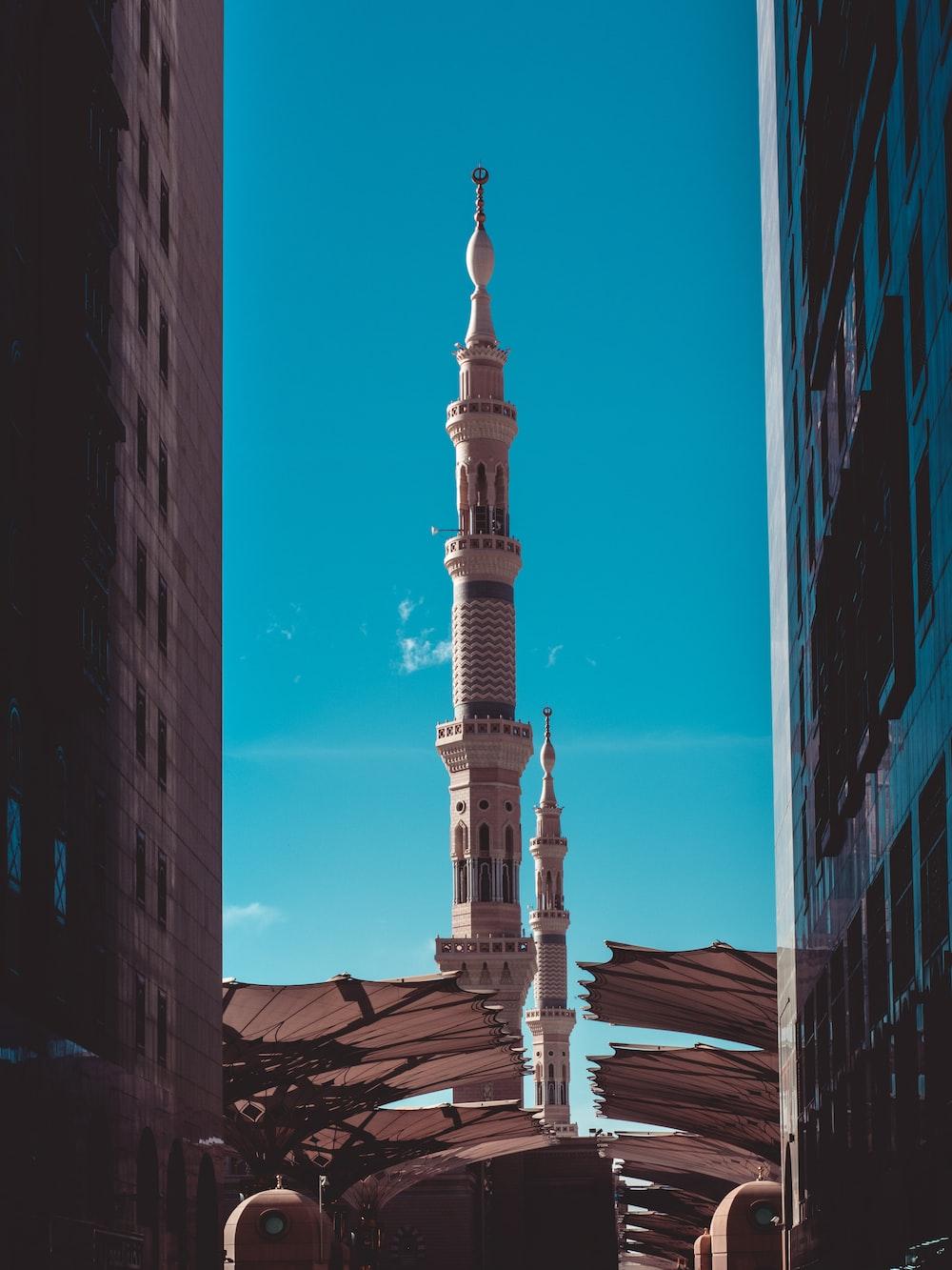 beige tower building