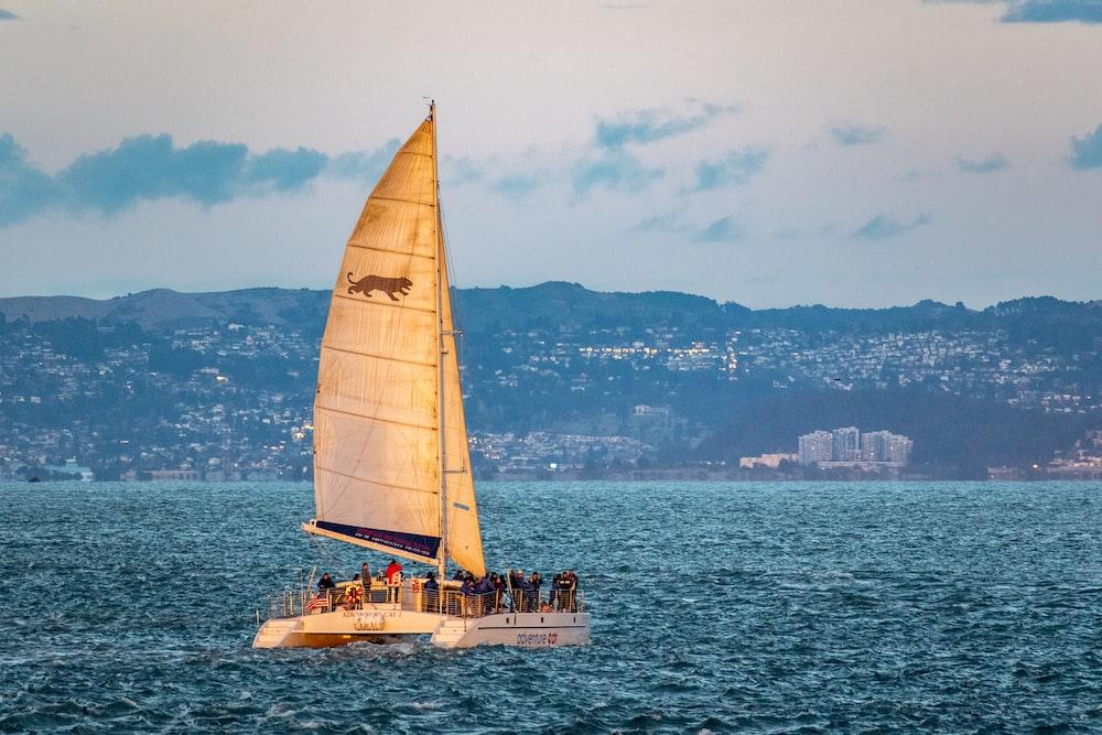 white boat vessel