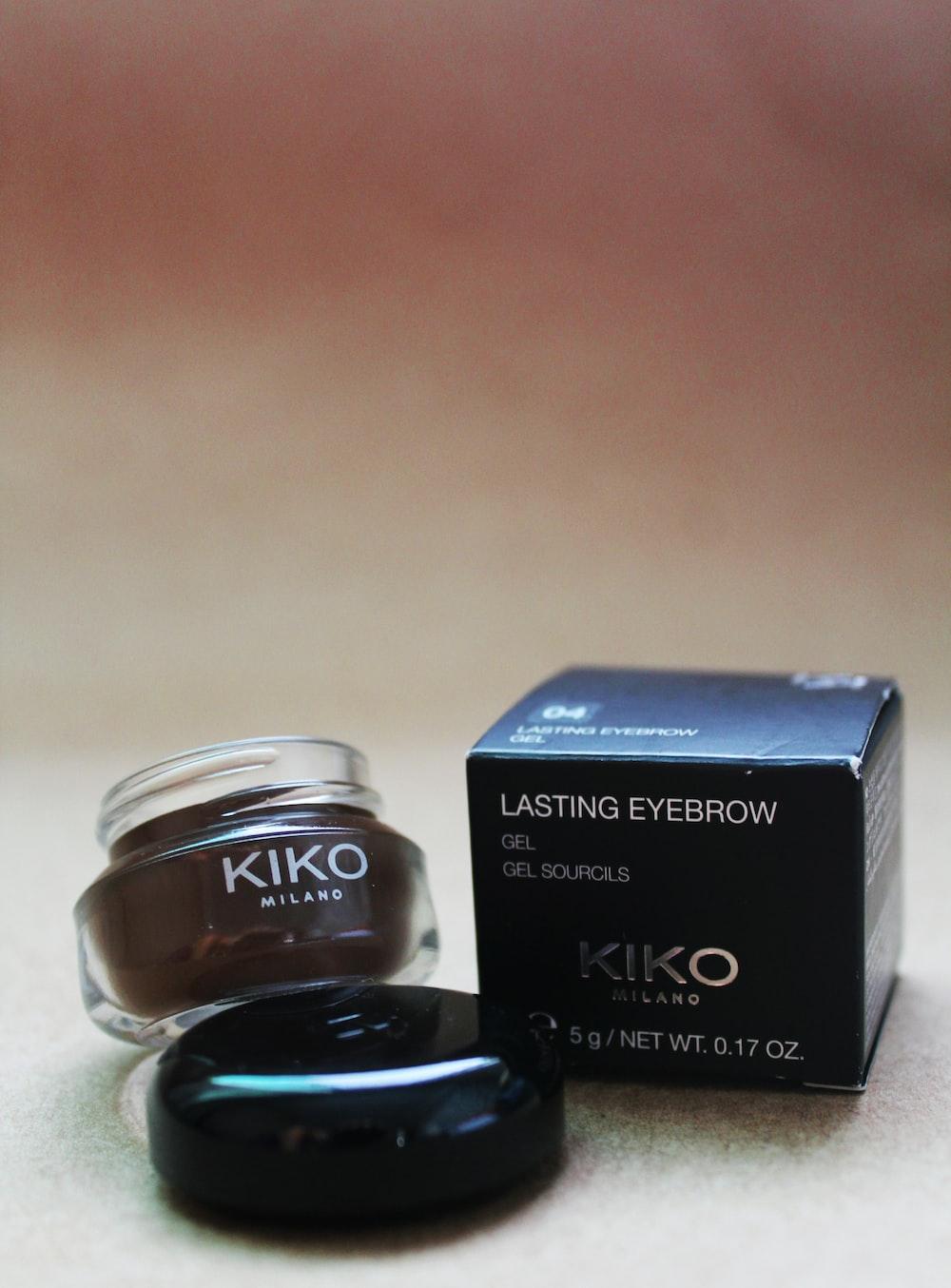 Kiko lasting eyebrow container with box