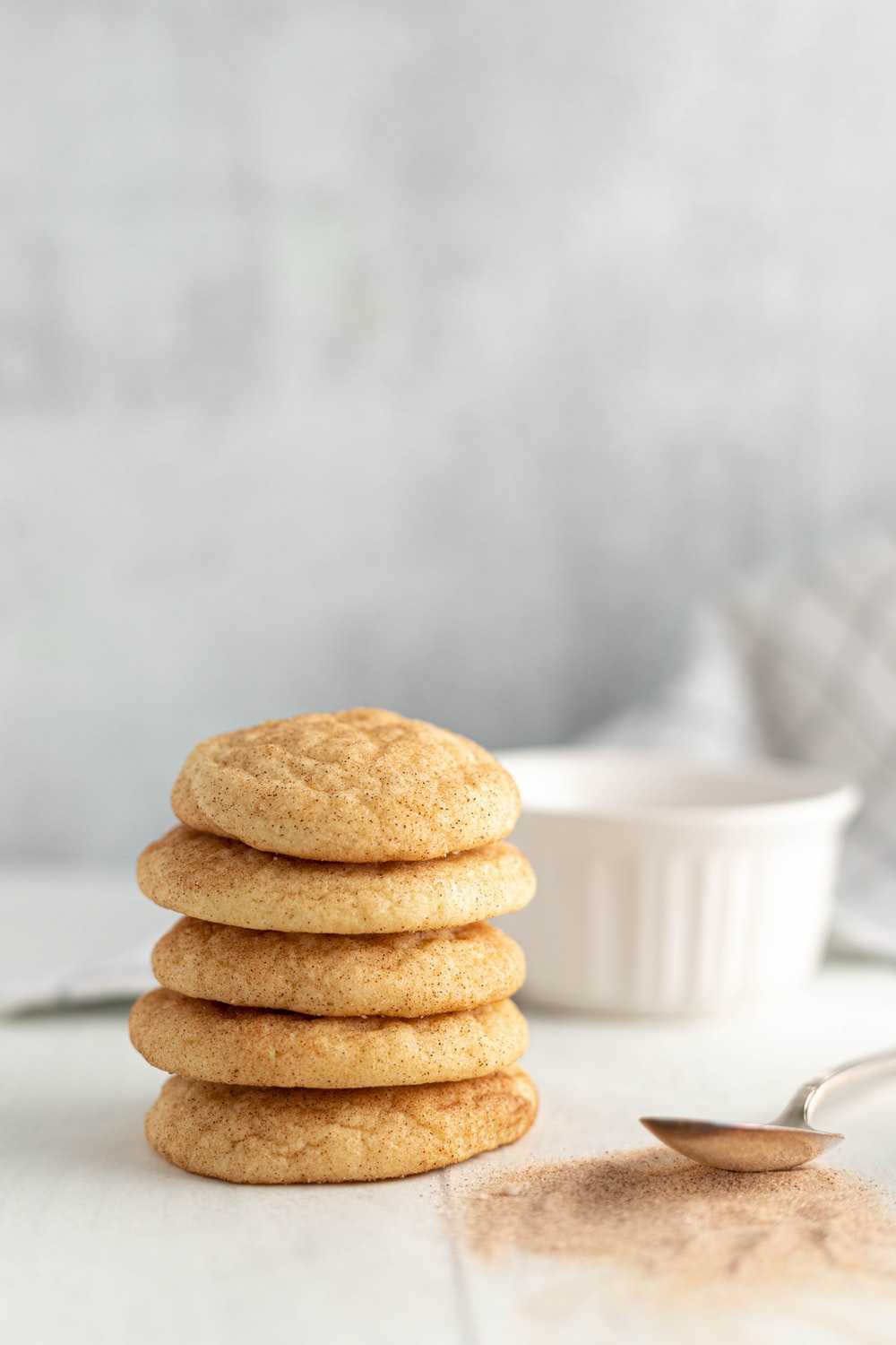 biscuits near the spoon