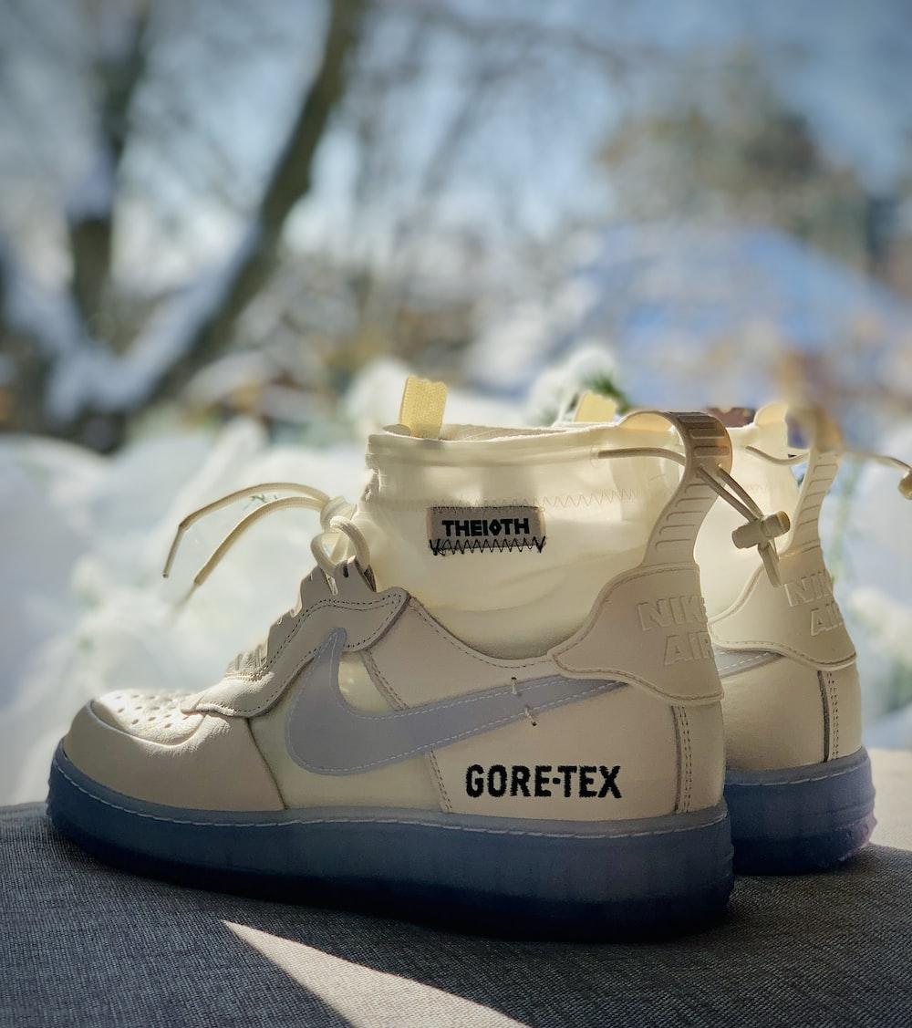 pair of black Nike Gore-Tex sneakers