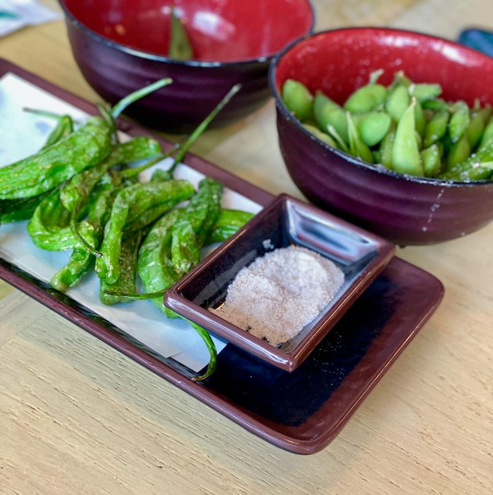 green chili on bowl
